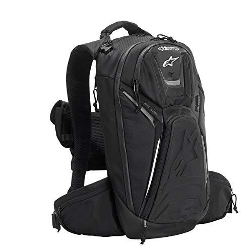 Alpinestars 6107115-12 Black/White 6.5/9.5/5.75 Tech Aero Backpack by Alpinestars